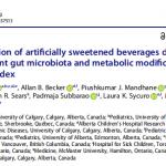 肠道微生物菌群多样性警示孕妇食用人造甜味剂的风险
